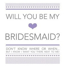 It's all Polkadots!: Bridal Party Invitations