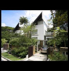 Twin house in Singapore