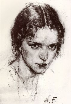 Nicolai Fechin: Angry Woman by deflam, via Flickr