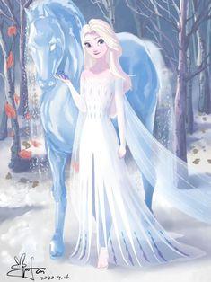 Disney Princess Frozen, Disney Princess Drawings, Disney Princess Pictures, Disney Drawings, Princess Zelda, Frozen Art, Elsa Frozen, Frozen Anime, Frozen Pictures