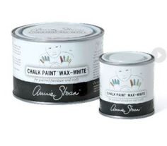 Apply Annie Sloan White Chalk Paint® Wax to soften and lighten Chalk Paint® colors. It can also be directly applied onto wood to create a limed look. Annie Sloan Chalk Paint White Wax, Annie Sloan Wax, Chalk Paint Wax, Using Chalk Paint, Chalk Paint Colors, Chalk Paint Projects, Annie Sloan Paints, Paint Stain, Milk Paint