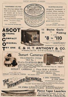 Ephemera vintage camera ad vintage ad