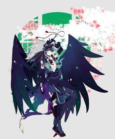 Game Character, Character Design, Badass Drawings, Osomatsu San Doujinshi, Dark Anime Guys, Ichimatsu, Monster Art, Art Reference, Anime Characters