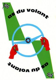 """Mille Bornes...I'm sure this card used to be called """"ace"""" du volant."""