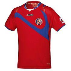 Costa Rica 2014 World Cup Home Shirt (Official) http://brazilsworldcupshirts.co.uk/