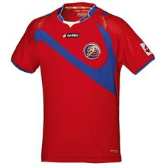Costa Rica Home Kit for World Cup 2014 #worldcup #brazil2014 #costarica #soccer #football #CRC