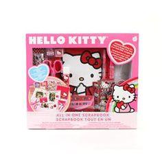 Hello Kitty all-in-one scrapbook   DeSerres