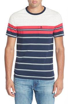 Original Penguin 'French Stripe' Pocket T-Shirt available at #Nordstrom