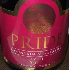 2014 Pride Mountain Vineyards Syrah