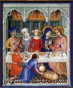 Les Très Riches Heures du duc de Berry. MIniature. Between 1412 and 1416. France.