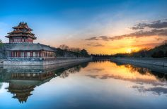 Along The North Wall - (Beijing, China) by blame_the_monkey, via Flickr