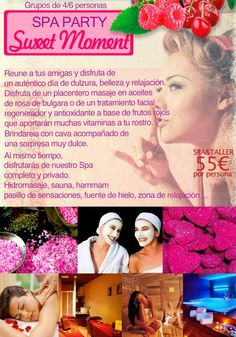 sweet party spa