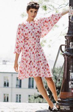 Wardrobe Architect: Planning your pieces: Robe Dita pattern by Wear Lemonade