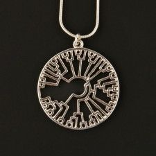 Cool/nerdy necklaces (like the phylogenetic tree circle or the DNA strand)