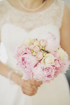 #flowers #bride #beautiful #peonies