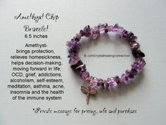 Via crystal healing connection - Amethyst is February's birthstone
