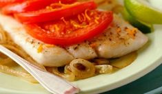 This is an easy recipe for makingdelicious tilapia fillets Portuguese style baked in the oven with fresh tomatoes and onions.