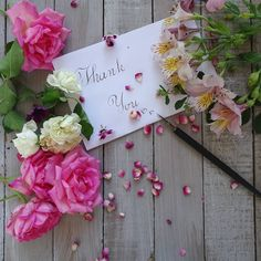 Find images and videos about flowers, whi and thank you on We Heart It - the app to get lost in what you love. Thank You Messages Gratitude, Thank You Wishes, Thank You Greetings, Congratulations Card, Thank You Cards, Birthday Thank You, Birthday Quotes, Birthday Wishes, Happy Birthday