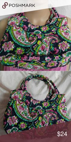Price drop Vera Bradley mini paisley tote purse Brand new Vera Bradley tote purse. Has tags on it Vera Bradley Bags Totes