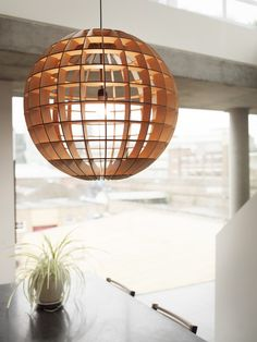 Taking Japeese influence, the Hemmesphere designed by Massow Design brings brilliant energy into any space - CrowdyHouse