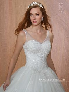1d1f9c825c60 Bridal Gowns - Unspoken Romance - Style: 6482 by Mary's Bridal Gowns Mary's  Bridal,