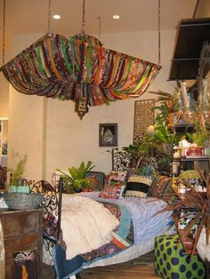 Adorable Bohemian Style Decor Idea (71)