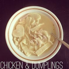 Dinner For Two: Chicken and Dumplings