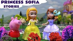 Princess Sofia The First Stories Peppa Pig Play Doh Frozen Elsa Anna Tho... We have a collection of Disney Princess Sofia The First stories here. Other characters in the stories include Peppa Pig, Princess Amber, Princess Anna and Queen Elsa. Thomas trains and a Hello Kitty train provide the transport. #sofia #sofiathefirst #princesssofia #disney #peppapig #playdoh #stories #toys