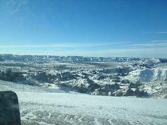 North Dakota in the winter