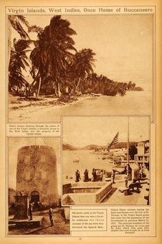 1922 Rotogravure Virgin Islands West Indies Native St Thomas Croix John RTO2