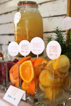 Sommerliche Desserts, Limonaden und Cocktails für Ihre Hochzeit bei heißen Temperaturen! Image: 13