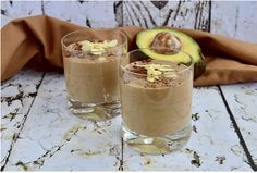 Feeling like indulging in some chocolate shake, with a twist of avocado? Well count this one on the top of your list.