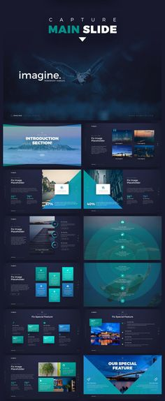 22 cosmic stereoscopic dynamic powerpoint presentations template