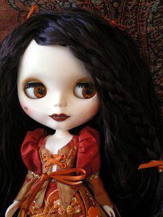 Custom Blythe by Jean Yates