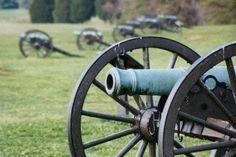 Civil War battlefield at Manassas, Virginia (also known as Bull Run)