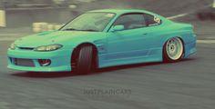 Nissan Silvia S15 #drifting