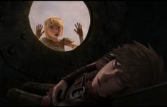Hiccup and Astrid in RTTE season 4.