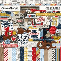 Sweet Shoppe Designs :: Digital Scrap Kits :: This is Home by Shawna Clingerman