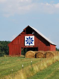 Barn Quilt - Earnhardt Barn Near Bristol Motor Speedway in Tn. Barn Quilt Designs, Barn Quilt Patterns, Quilting Designs, Painted Barn Quilts, Barn Signs, Country Barns, Country Roads, Country Life, American Quilt