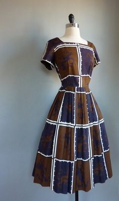 The Paraders Vintage #vintage #dress #1950s