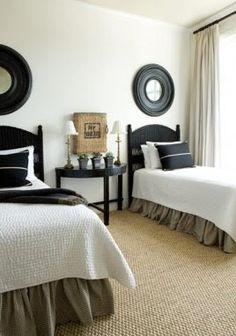 TidbitsTwine Guest Bedroom Inspiration 8 Guest Bedroom Inspiration {20 Amazing Twin Bed Rooms}