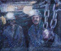 ¿Encadenados a la oscuridad? de Carmen Estébanez Abril - septiembre de 2013. Sala de exposiciones temporales del MUSEO DE LA SIDERURGIA Y LA MINERIA DE CASTILLA Y LEON, en Sabero (León).