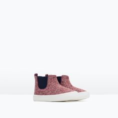 HEART PRINT PLIMSOLLS-Shoes-Baby girl (3 months - 3 years)-KIDS | ZARA United States