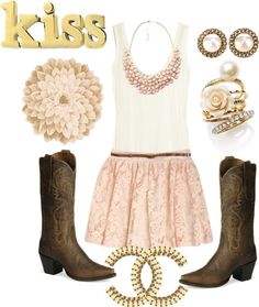 Country Dress-Up, created by doublehh26 on Polyvore