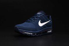 Nike Air Max 2017 Dark Blue Men Shoes DiamondB! Pinned