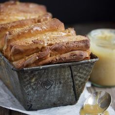 Maple Butter Pull-Apart Bread