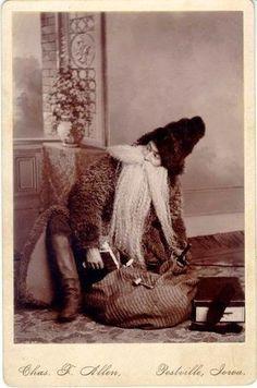 Vintage Father Christmas 1890 | Vintage Photography | Bloglovin'