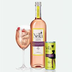 Nola Vodka Spritzers Come Bottled and Canned for Instant Enjoyment #premixed #alcohol trendhunter.com