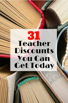 31 Teacher Discounts You Can Get Today - The Budget Diet