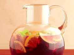 This summer cocktail is great for groups. The longer your batch of sangria sits, the better the flavor will be.